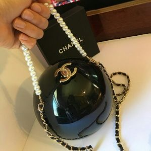 Vip gift limited edition black pearl bag